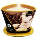 SHUNGA MINI CARESS BY CANDELIGHT VELA MASAJE CHOCOLATE 170ML - Imagen 1
