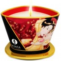 SHUNGA MINI CARESS BY CANDELIGHT VELA MASAJE VINO 170ML - Imagen 1